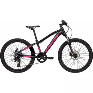 Principia Evoke A2.4 24in 1x7sp Hydr. disc 306mm Sort m. pink 2019