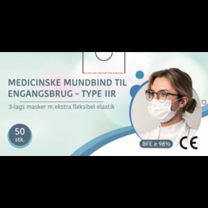 Mundbind Type: IIR, 3-lags 50 stk.